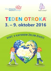 teden otroka 2016_plakat